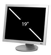 LCD Monitor - 19