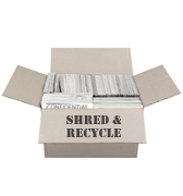 Shred and Recycle Paper (up to 50 lbs.)
